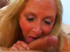 Beauteous Granny Loves Cum