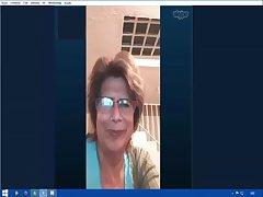 my sexy grandmother on skype