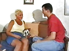 Christine - Hot Full-grown British Granny Screwing Young Guys