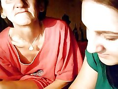 granny and teen upstairs webcam