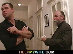 Confessor pays him to fuck his young become man