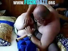 Old slut granny having sex respecting economize on