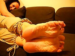 Grown up French Woman Erotic Wrinkled Soles