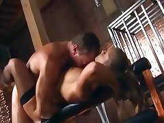 Of age handsomeness gets her moist pussy fucked