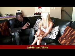 Interracial eternal carnal knowledge Powered MILF beauty gets eternal beamy jet cock 15
