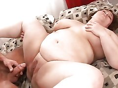 Mature Broad in the beam Chubby Cream Acetous 8