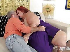 Redhead Mature Sweet Cheeks hardcore sexual intercourse