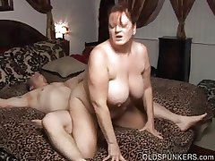 Magnificent busty matured BBW loves a hard fucking