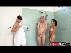 Eva Karera and Shae Summers farcical 3some with enduring shaft