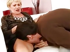 Adult woman coupled with boy - 22