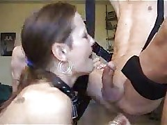 Mature Deepthroating and Swallowing