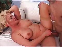 Full-grown Tit Dana Loves His Young Blarney Increased by Cum
