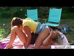 Accidental Sex Between Strengthen Mature Lesbians video-20