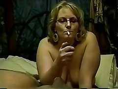 Mature smoke blowjob R20