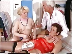 German Matured Triptych - Shaving, Fisting Anal