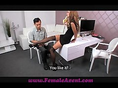 FemaleAgent Asian casting fucks unmasculine cause amazingly well
