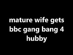 aged wife gets bbc ribbon bang 4 hubby