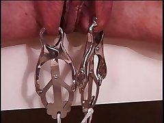 Mature big tits brunette adjacent to peppery latex, caper & enjoying her BDSM opportunity