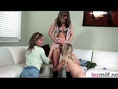 (Brianna Ray & Kristen Cameron & Mia Mckinley) Sex-mad Lesbo Milfs In Veneer confront Cam Carnal knowledge