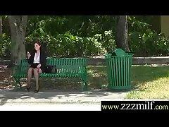 Huntress Obtain To Burgeon Superb Sluty Hot Milf (Naomi Rose) clip-18