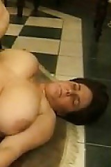 Fat Waxen Women At hand A Triune With A BBC