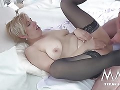 MMV FILMS German Mature Rides Bushwa
