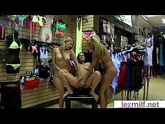 (Brianna Ray & Kristen Cameron & Jewel) Scalding Milfs Make Love In Hot Lesbian Sex Play the part vid-11